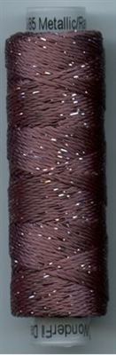 Dazzle 50 Yard Mini Spool of Sue Spargo's Dazzle Thread  FRENCH ROAST