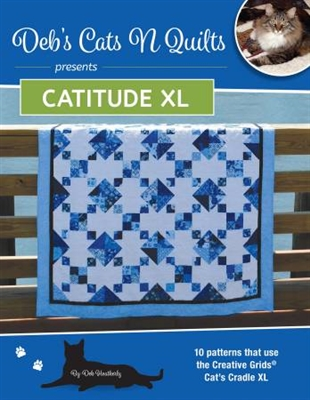 Catitude XL  Pattern booklet by Deb Heatherly