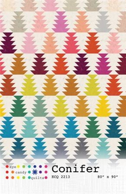 Conifir Quilt Pattern from Eye Candy Quilts