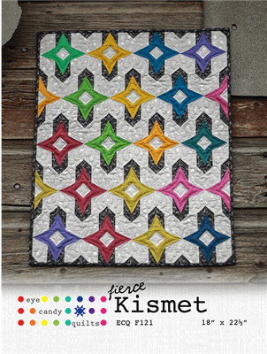 Fierce Kismet Quilt Pattern from Eye Candy Quilts