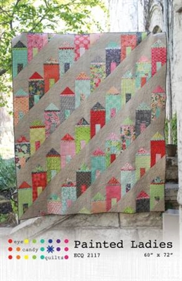 Painted Ladies Quilt Pattern from Eye Candy Quilts