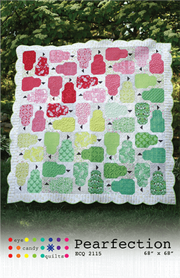 Pearfection Quilt Pattern from Eye Candy Quilts