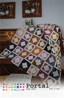 Portal Quilt Pattern from Eye Candy Quilts