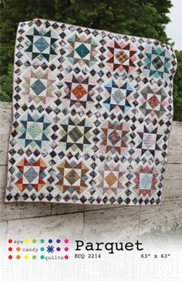Parquet Quilt Pattern from Eye Candy Quilts