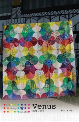 Venus Quilt Pattern from Eye Candy Quilts