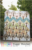 Foggy Thicket Quilt Pattern from Eye Candy Quilts