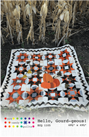 Hello Gourd-Geous Quilt Pattern from Eye Candy Quilts