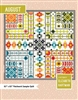 August Quilt Pattern by Elizabeth Hartman