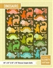 The Dinosaurs Quilt Pattern by Elizabeth Hartman
