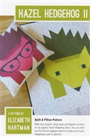 Hazel Hedgehog Two Quilt Pattern
