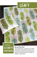 COMING SOON:  Leafy Quilt Pattern by Elizabeth Hartman