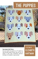 The Puppies Quilt Pattern by Elizabeth Hartman