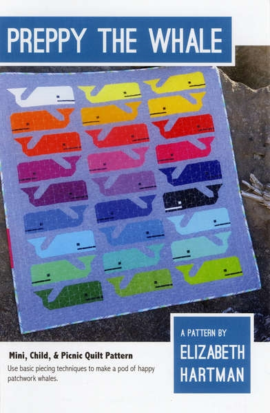 template free preppy the whale quilt pattern from elizabeth hartman