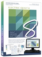 Electric Quilt 8.0 SOFTWARE