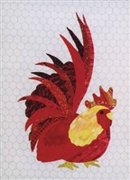 Ralph That Radical Rooster Applique Quilt Pattern
