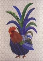 Rob Roy That Radical Rooster Applique Quilt Pattern