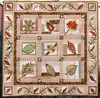 Botanika Applique Quilt Pattern by Irene Blanck