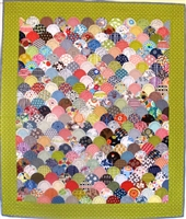 Clamshells Quilt Pattern & Acrylic Template by Irene Blanck