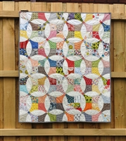 Flowering Snowball Quilt Pattern & Acrylic Template by Irene Blanck