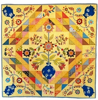 Joy Applique Quilt Pattern by Irene Blanck