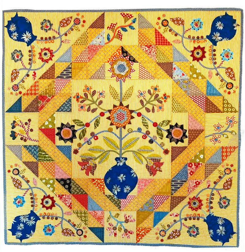 Joy Applique Quilt Pattern By Irene Blanck