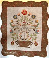 MINERVA Applique Quilt Pattern by Irene Blanck