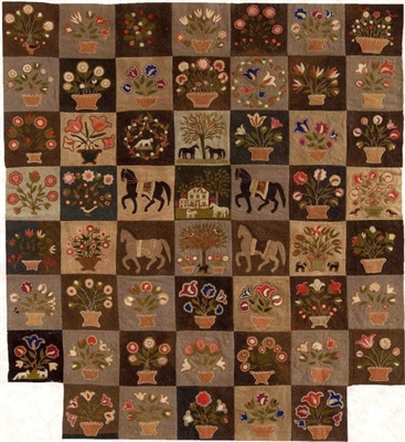 EMILY MUNROE APPLIQUE QUILT PATTERN: