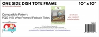 Side Dish Tole Tote Wire-Frame