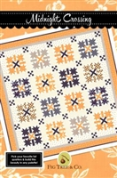 Midnight Crossing Quilt Pattern from Fig Tree Quilts