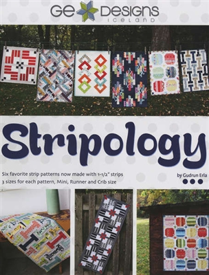 "Stripology Book for Quilters: Sewing with 1 1/2"" strips"