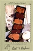 Pumpkin Harvest Wool Table Runner  Applique Quilt Pattern