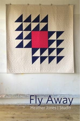 Fly Away Modern Quilt Pattern by Heather Jones Studio