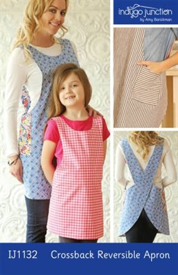 Crossback Reversible Apron Pattern from Indygo Junction