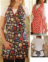 One Yard Overlap Apron Pattern from Indygo Junctionn