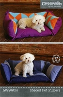 Pieced Pet Pillow Bed by Indygo Junction