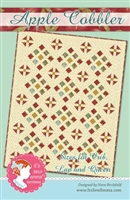 Apple Cobbler Quilt Pattern from It's Sew Emma