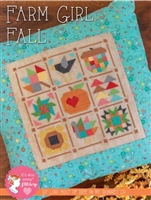 Farm Girl Fall Cross Stitch Pattern by Its Sew Emma
