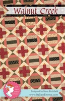 Walnut Creek Quilt Pattern from It's Sew Emma