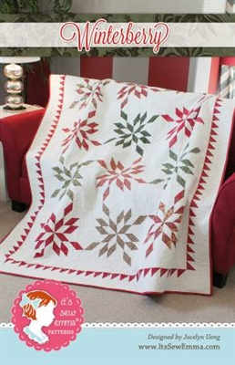 Winterberry Quilt Pattern from It's Sew Emma