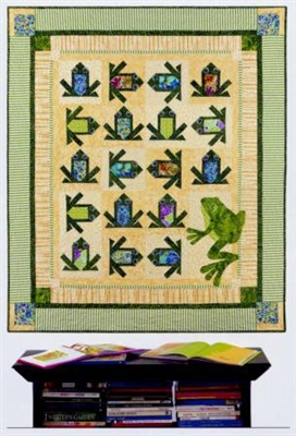 You must be Croakin! Frog Quilt Pattern