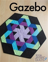 Gazebo Table Topper Quilt Pattern by Jaybird Quilt Designs