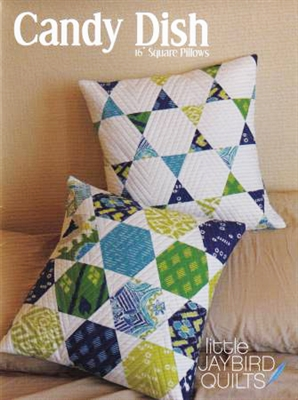 Candy Dish Pillow  Pattern by Jaybird Quilt Designs