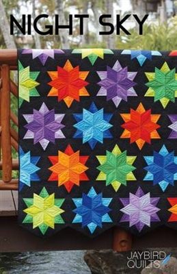 Night Sky Quilt Pattern from Jaybird Quilts