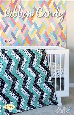 Ribbon Candy Quilt Pattern by Jaybird Quilts