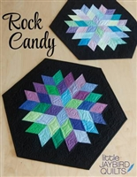 Rock Candy Table Topper Quilt Pattern by Jaybird Quilt Designs