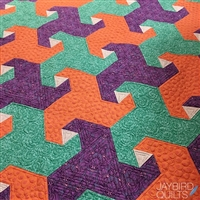 Trail Mix Quilt Pattern by Jaybird Quilt Designs