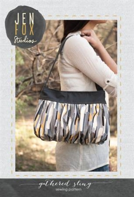 Jen Fox Studios:  Gathered Sling Bag Pattern