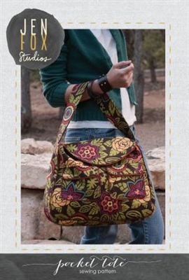 Jen Fox Studios: Pocket Tote Bag Pattern