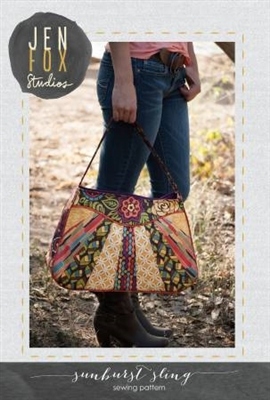 Jen Fox Studios:  Sunburst Sling Bag Pattern