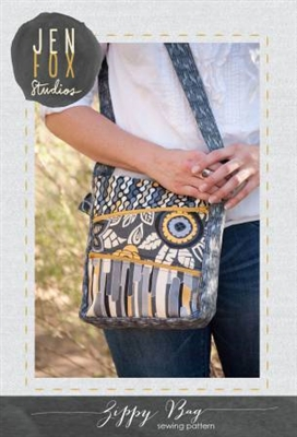 Jen Fox Studios: ZIPPY Bag Pattern